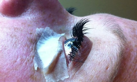 Full Set of Eyelash Extensions at Breezy Lash Design (50% Off)