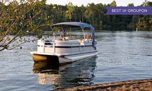 Marina Mike's Boat Club: Full-Day Pontoon Rental for Six or Eight or Small Kayak Rental from Marina Mike's Boat Club (Up to 40% Off)