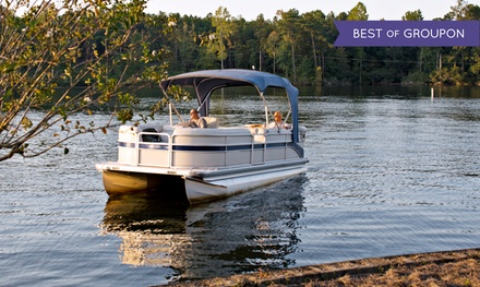 Full-Day Pontoon Rental for Six or Eight or Small Kayak Rental from Marina Mike's Boat Club (Up to 68% Off)