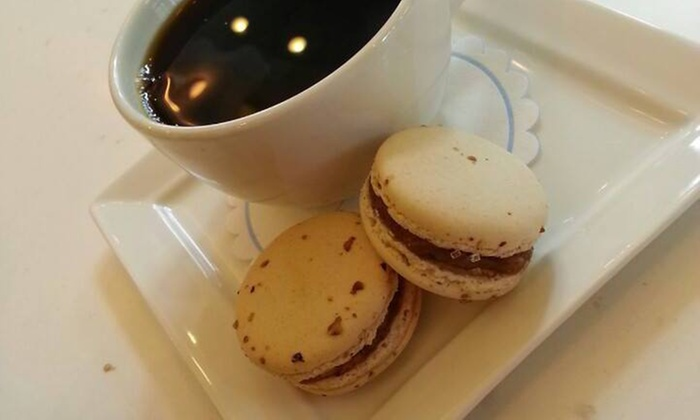 Sno-Biggie - Los Alamitos:  Two French Macarons and One Medium Cup of Coffee at Sno-Biggie (50% Off)