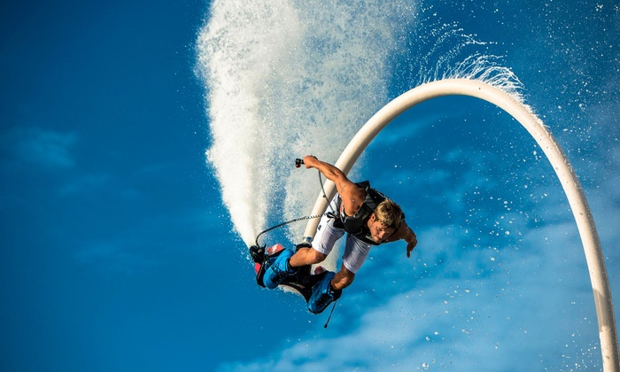 GoFly Water Aviation - Multiple Locations: $69 for a Flyboard, Jetovator, or Hoverboard Flight with Video at GoFly Water Aviation ($129 Value)
