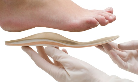 Foot Assessment Plus Custom Insoles from £49 at Pedicure Plus (Up to 63% Off)
