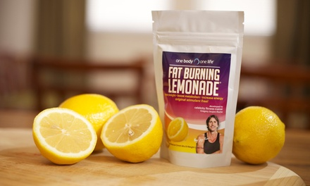 One Body One Life Fat Burning Lemonade Holistic Weight Loss Package
