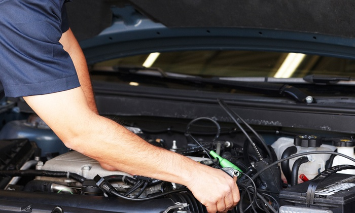 Auto Plus - Multiple Locations: Deluxe Oil-Change Package or Three Oil Changes with Inspections at Auto Plus (Up to 54% Off)