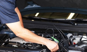 Auto Plus: Deluxe Oil-Change Package or Three Oil Changes with Inspections at Auto Plus (Up to 54% Off)