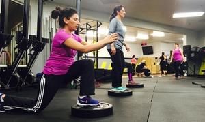 NLSC CrossFit: One Month of Boot-Camp Classes with Meal Plan for One or Two at NLSC CrossFit (Up to 75% Off)