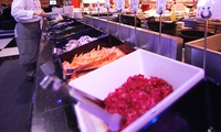 Sunday Carvery and International Buffet Meal for Up to Four at The Venue (56% Off)