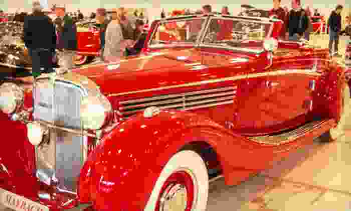 13th Annual Classics and Chrome Car Show - Machesney Park: Admission for Two, Four, or Eight to The 13th Annual Classics and Chrome Car Show (Half Off)