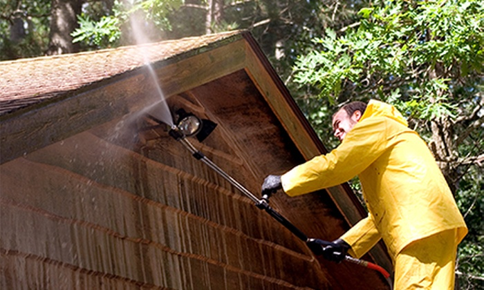 A+ Power Cleaning - Birmingham: Home Exterior Power Washing for Up to 2,500 or 4,500 Square Feet from A+ Power Cleaning (Up to 70% Off)