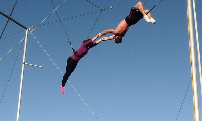 Aerial Trapeze Academy - West Palm Beach: Trapeze Lesson for One, Two, or Four at Aerial Trapeze Academy (Up to 50% Off)