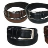 Beverly Hills Polo Club Men's Leather Belts