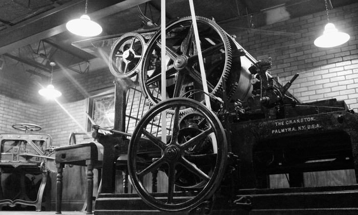 The Printing Museum - Neartown/ Montrose: Admission for Two, Four, Six, or Eight at The Printing Museum (Up to 50% Off)