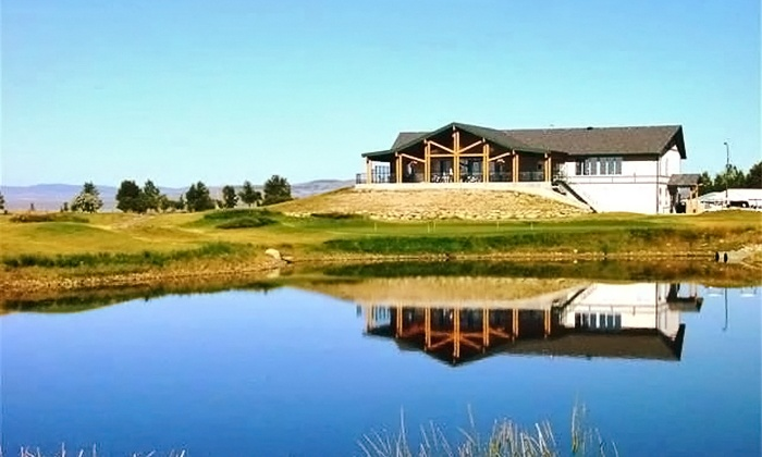 The Bridges at Claresholm - Claresholm: 18 Holes of Golf for 2 or 4 with Cart Rental and Range Balls at The Bridges at Claresholm ( 56% Off)