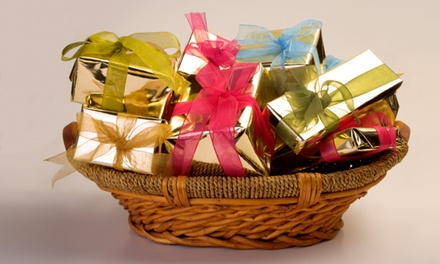 Healthy for Holidays Gift Basket and Reflexology Treatment or Facial from MamaLicious Market (54% Off)