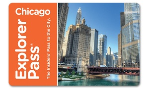 Go City Card: Chicago Explorer Pass Including Admission to Three or Five Attractions from 20+ Options. Pay Nothing at Gate.