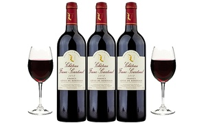 Three Bottles of 2010 Chateau Franc-Cardinal with Shipping Included from Splash Wines (63% Off)