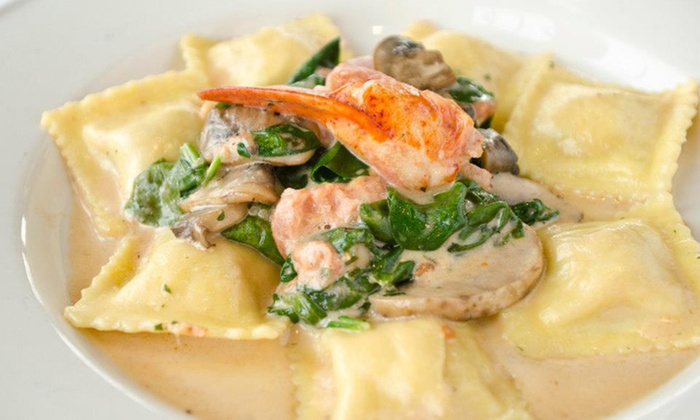 Go Fish - Mystic: $27 for $50 Worth of Upscale Seafood for Parties of Two or More at Go Fish