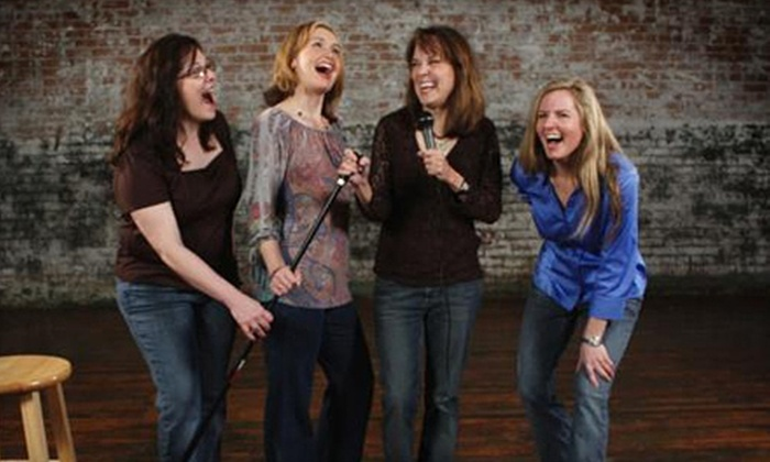 """Four Funny Females - Courtroom Theater: """"Four Funny Females"""" Comedy Show for One or Two at McKinney Performing Arts Center (Half Off). Three Dates Available."""