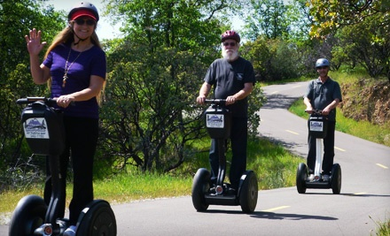 Garden Glide Segway Tour for Two (up to a $100 value) - Shasta Glide 'n Ride in Redding