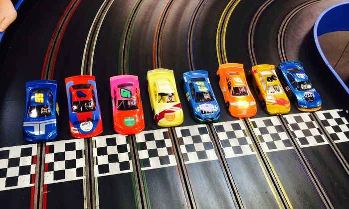 Hudson Valley Raceway - Haviland: Slot-Car Racing for Two or Four, or Race-Themed Birthday Party Package at Hudson Valley Raceway (Up to 45% Off)