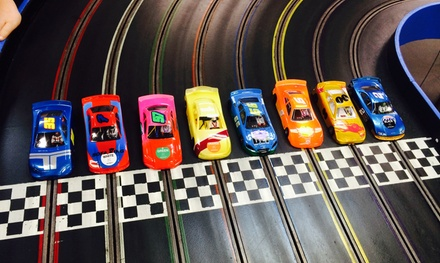 Slot-Car Racing for Two or Four, or Race-Themed Birthday Party Package at Hudson Valley Raceway (Up to 45% Off)