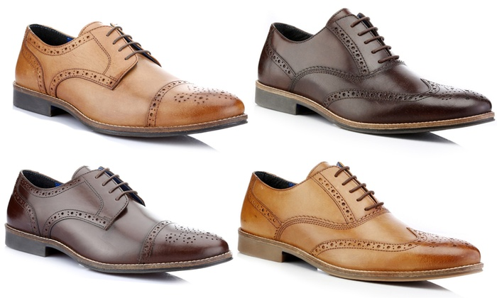 Up To 60% Off Red Tape Brogue Men's Shoes | Groupon