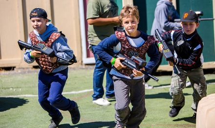 6, 8, or 10 Games of Laser Tag at Zaps Zone or NorCal Laser Tag, Courtesy of Laser Tag Tickets (Up to 56% Off)