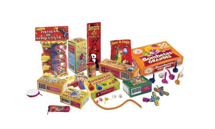 Lotes de petardos para niños y celebraciones - La Piula Verda  d1fcd6ffa3a