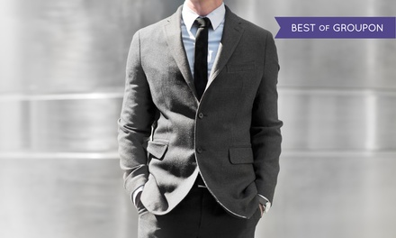 Three Custom Shirts or Full Bespoke Suit in Any Colour or Pattern at Peter Parvez Custom Made (Up to 61% Off)