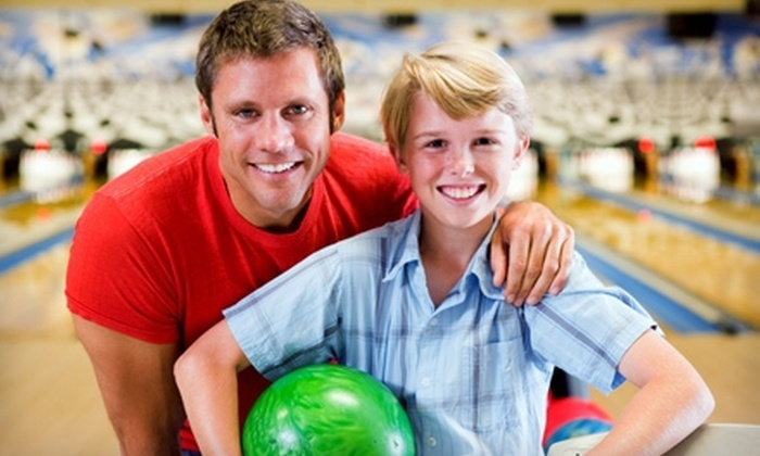 West Lane Bowl - Pacific: Bowling Outing for Two or Four with Shoe Rental and Food at West Lane Bowl (Up to 70% Off)
