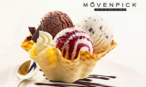 Movenpick Ice Cream - Carindale: $12.95 for Two Ice Cream Tasting Baskets at Mövenpick Ice Cream - Carindale (Up to $26 Value)