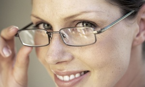 Your Eyes Center Inc: Exam with Credit Toward Eyewear or Fitting at Your Eyes Center (Up to 88% Off). Three Options Available.