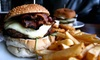 Tudor Rose - Panorama Hills: Burgers, Sides, and Beer for Two or Four at Tudor Rose (Up to 40% Off)