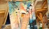 Art By The Glazz - Multiple Locations: Painting Session, Storyboard Tuesday, or Synergy Wednesday for One or Two at Art By The Glazz (55% Off)