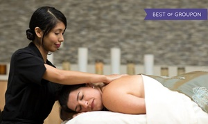 InterContinental Spa: Swedish Massage, Custom Facial, and/or Pedicure at InterContinental Spa Boston (55% Off). 3 Options Available.