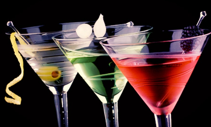 Blue Martini - High Street: Specialty Martinis and Appetizer or Signature Dish for Two or Four at Blue Martini (49% Off)