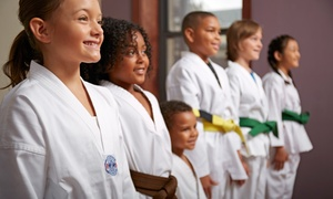 Kang's Sunrise Tae Kwon Do: Two or Three Weeks of Tae Kwon Do Classes (Up to 78% Off)