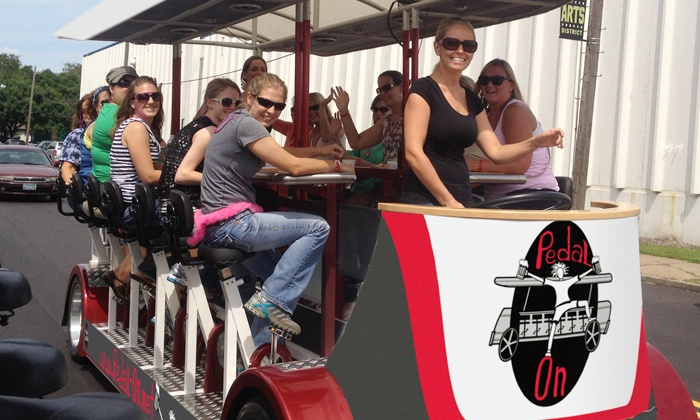 Pedal On - San Diego: Two-Hour Bike Pub Crawl for Up to 16 on Monday–Thursday or Friday–Sunday from Pedal On (50% Off)