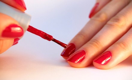 Smooth or Shellac Manicure and Perfect Pedicure at Famo Nails (Up to 51% Off)