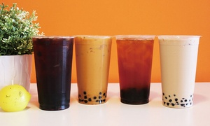 Boba Shop: $12 for Four Groupons, Each Good for $6 Worth of Smoothies at Boba Shop ($24 Total Value)