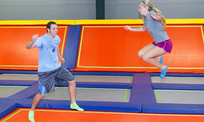 Fly World Trampoline Park - Williamsport: Two One-Hour Jump Passes at Fly World Trampoline Park (Up to 50% Off). Two Options Available.