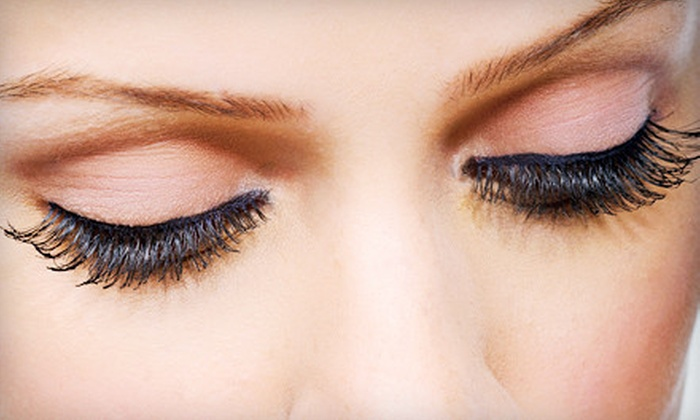 Paradise Total Spa & Nails - Randolph: Full Set of Eyelash Extensions with Optional Touch-Up at Paradise Total Spa & Nails (Up to 55% Off)