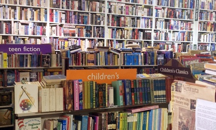 Books at Bank of Books (50% Off). Two Options Available.