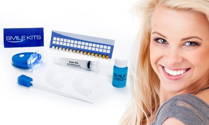 Smile Kits: US$29 for an Ultimate Teeth-Whitening Kit from Smile Kits (US$169 Value)