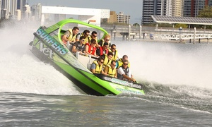 Surfers Jet: One-Hour Jet Boating Experience for One ($39) or Two People ($78) at Surfers Jet, Surfers Paradise (Up to $140 Value)