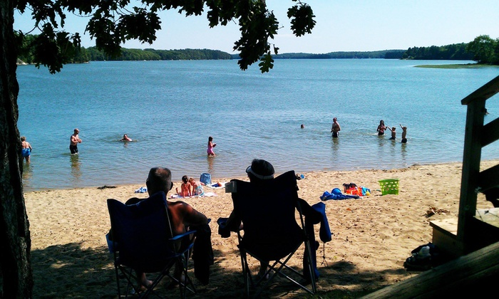 Thomas Point Beach & Campground - Brunswick, Maine: One Night of Camping Valid Sunday–Thursday or Friday–Saturday at Thomas Point Beach & Campground (Up to 50% Off)