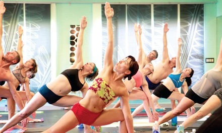 $49 for One Month of Unlimited Classes at Juice Box Yoga ($135 Value)