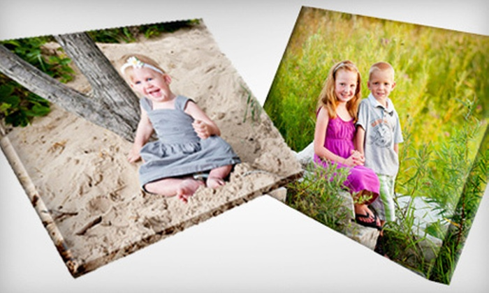 "GoProPrints.com - Grandville: Personalized 16""x20"", 20""x24"", or 24""x30"" Gallery-Wrapped Canvas from GoProPrints.com (Up to 61% Off)"