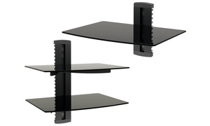 Promount Single or Dual On Wall AV Component Shelf