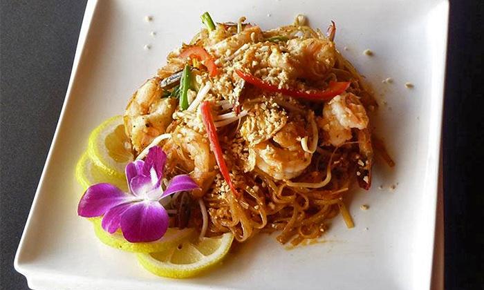 Bangkok Tokyo Thai and Sushi Restaurant - Clearwater: Japanese and Thai Food for Two at Bangkok Tokyo Thai and Sushi Restaurant (40% Off)